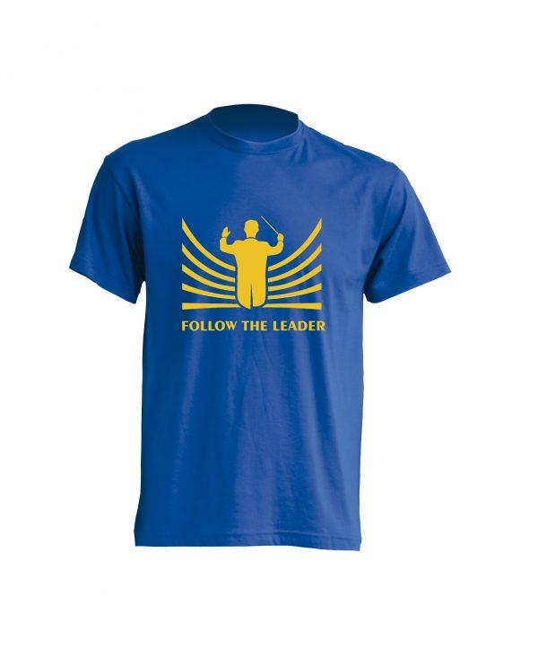 Camiseta Royal Follow The Leader Amarillo